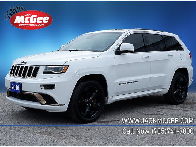 2016 Jeep Grand Cherokee Overland (Stk: 20441A) in Peterborough - Image 1 of 21