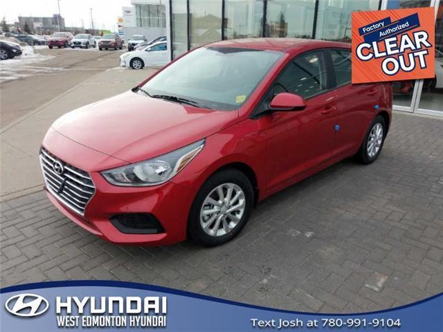 2020 Hyundai Accent Preferred (Stk: AC01347) in Edmonton - Image 1 of 7