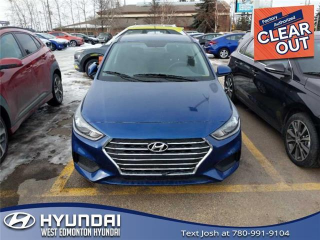 2020 Hyundai Accent Preferred (Stk: AC04629) in Edmonton - Image 1 of 3