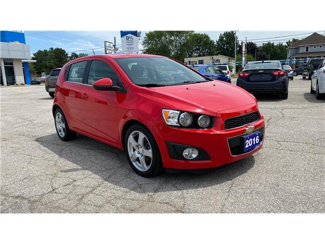 2016 Chevrolet Sonic LT Auto (Stk: 20-0036A) in LaSalle - Image 1 of 30