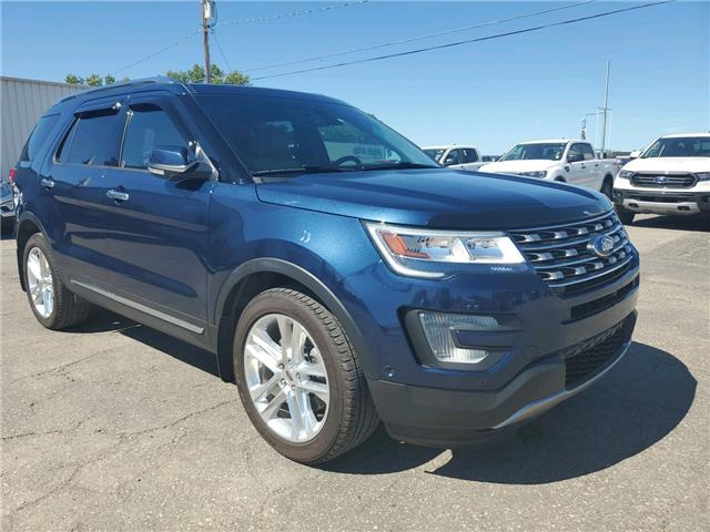2017 Ford Explorer Limited (Stk: 20U142) in Wilkie - Image 1 of 26
