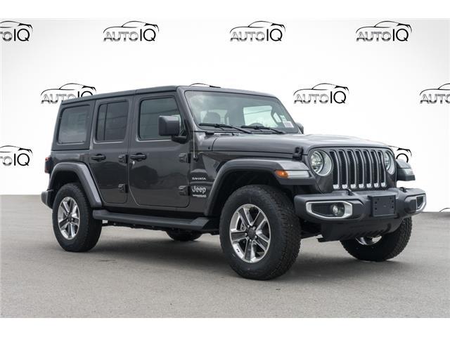 2020 Jeep Wrangler Unlimited Sahara (Stk: 43876) in Innisfil - Image 1 of 21