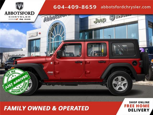 2020 Jeep Wrangler Unlimited Rubicon (Stk: L327536) in Abbotsford - Image 1 of 1