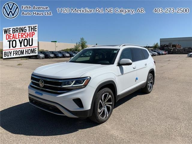 2021 Volkswagen Atlas 3.6 FSI Execline (Stk: 21004) in Calgary - Image 1 of 30