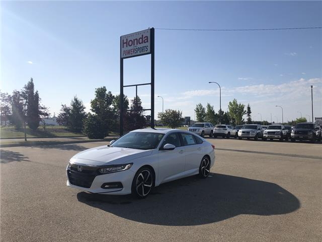2019 Honda Accord Sport 2.0T (Stk: 19-223) in Grande Prairie - Image 1 of 20