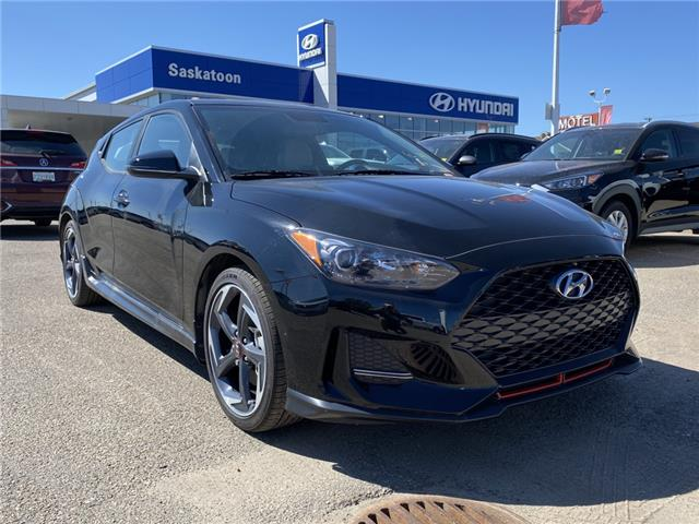 2020 Hyundai Veloster Turbo w/Sandstorm Leather (Stk: 40439) in Saskatoon - Image 1 of 17