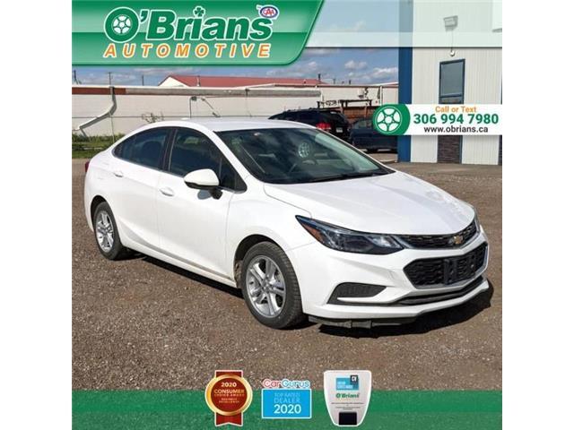 2018 Chevrolet Cruze LT Auto 1G1BE5SM0J7230467 13640A in Saskatoon