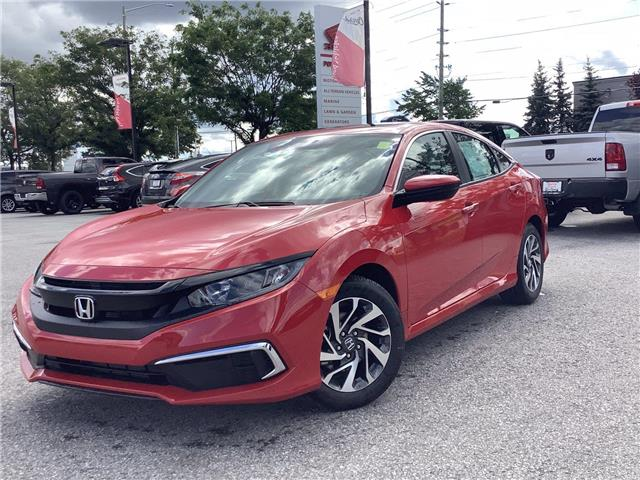 2020 Honda Civic EX (Stk: 20826) in Barrie - Image 1 of 25