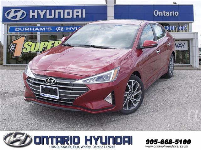 2020 Hyundai Elantra Preferred w/Sun & Safety Package (Stk: 104486) in Whitby - Image 1 of 17