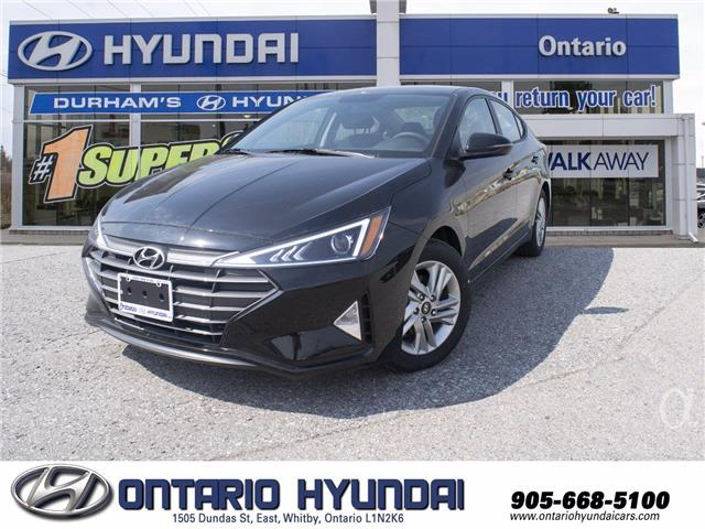 2020 Hyundai Elantra Preferred w/Sun & Safety Package (Stk: 103136) in Whitby - Image 1 of 17