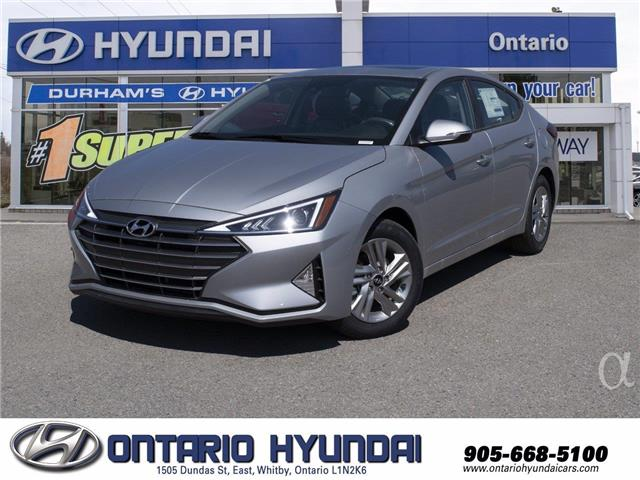 2020 Hyundai Elantra Preferred w/Sun & Safety Package (Stk: 103501) in Whitby - Image 1 of 18
