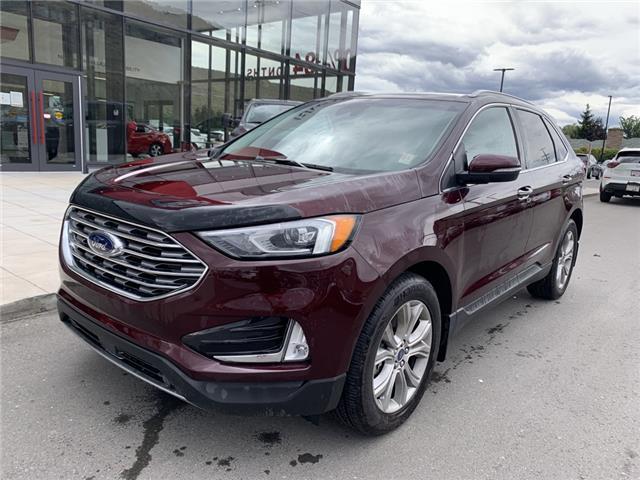 2019 Ford Edge Titanium (Stk: UT1474) in Kamloops - Image 1 of 26