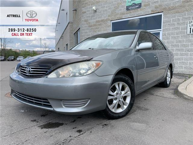 2006 Toyota Camry LE B PKG SUNROOF, ALLOY WHEELS, ABS, SPOILER, POWE (Stk: 44244A) in Brampton - Image 1 of 22