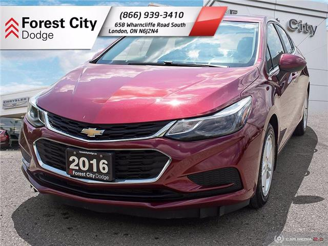 2016 Chevrolet Cruze LT Auto (Stk: DT0041) in London - Image 1 of 16