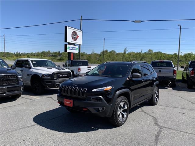 2018 Jeep Cherokee Trailhawk (Stk: 62771) in Sudbury - Image 1 of 21
