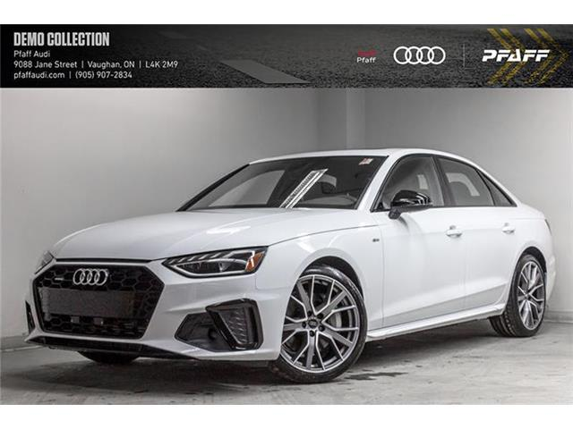 2020 Audi A4 2.0T Progressiv (Stk: T18171) in Vaughan - Image 1 of 22