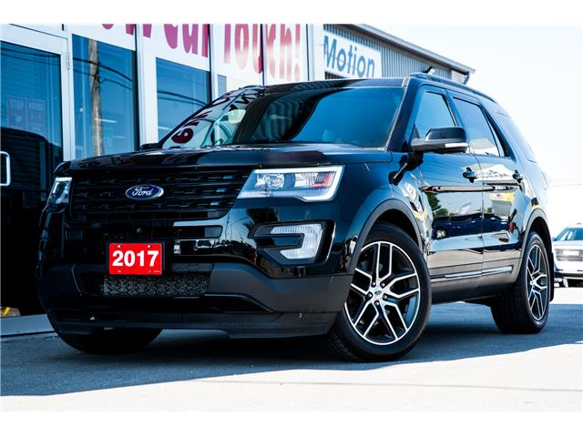 2017 Ford Explorer Sport (Stk: 20615) in Chatham - Image 1 of 27