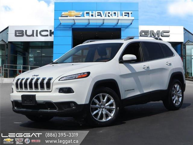 2014 Jeep Cherokee Limited (Stk: 208582AB) in Burlington - Image 1 of 23