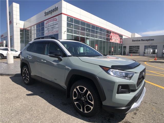 2019 Toyota RAV4 Trail (Stk: 9182A) in Calgary - Image 1 of 25