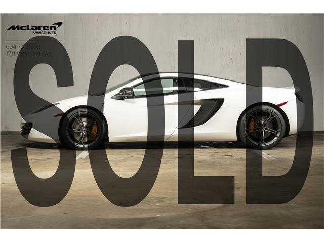 2012 McLaren MP4-12C  (Stk: AT0025) in Vancouver - Image 1 of 22
