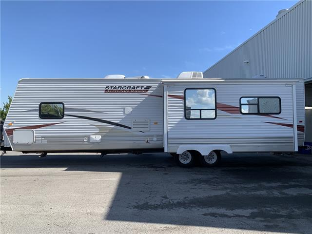 2011 Starcraft AUTUMN RIDGE 32' TAGALONG ONE SLIDE MINT!  (Stk: 8Y5058) in Carleton Place - Image 1 of 21