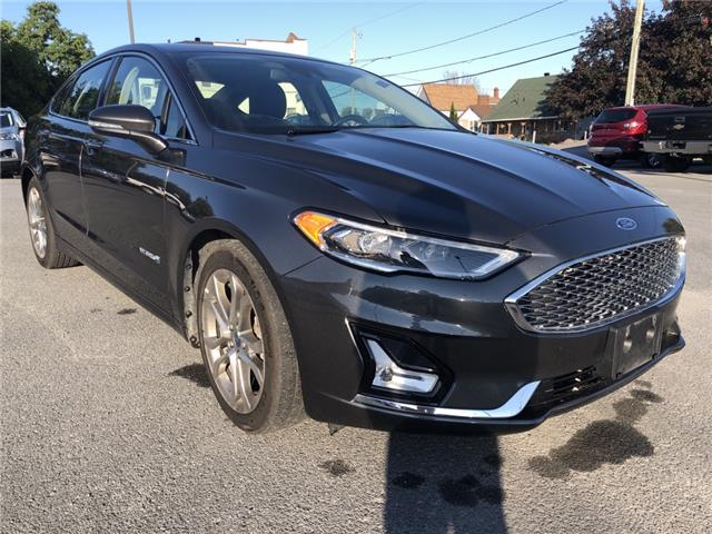 2019 Ford Fusion Hybrid Titanium (Stk: R235A) in Cornwall - Image 1 of 28