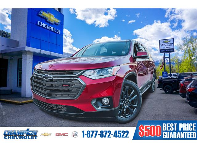 New 2020 Chevrolet Traverse RS  - Trail - Champion Chevrolet Buick GMC Ltd.