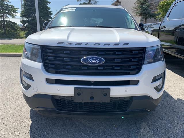 2017 Ford Explorer Sport White