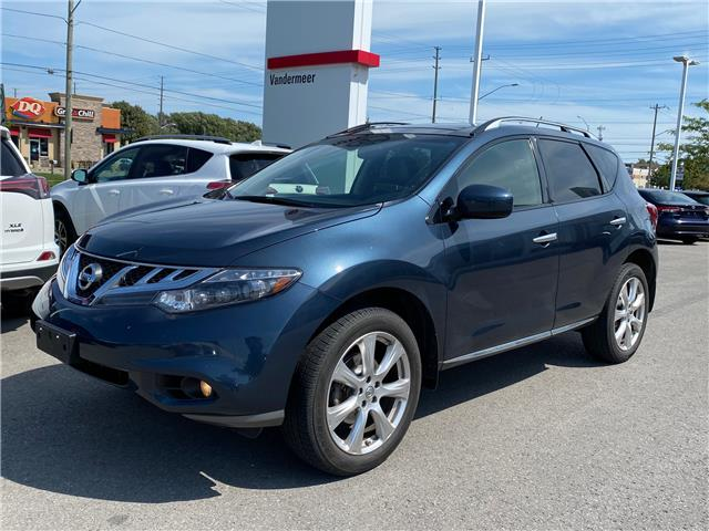 2014 Nissan Murano Platinum (Stk: TW229A) in Cobourg - Image 1 of 1