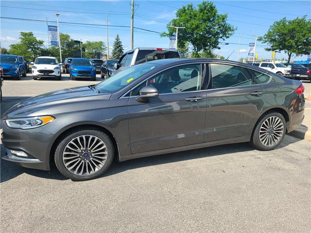 2017 Ford Fusion SE Grey
