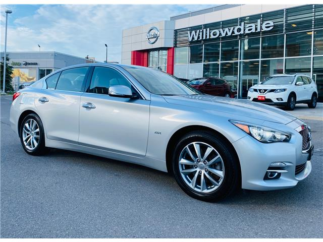 2016 Infiniti Q50 2.0T Base (Stk: U16704) in Thornhill - Image 1 of 20