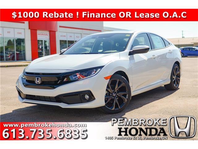 2020 Honda Civic Sport (Stk: 20181) in Pembroke - Image 1 of 27