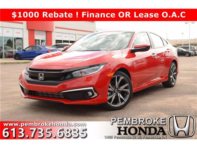2020 Honda Civic Touring (Stk: 20193) in Pembroke - Image 1 of 30