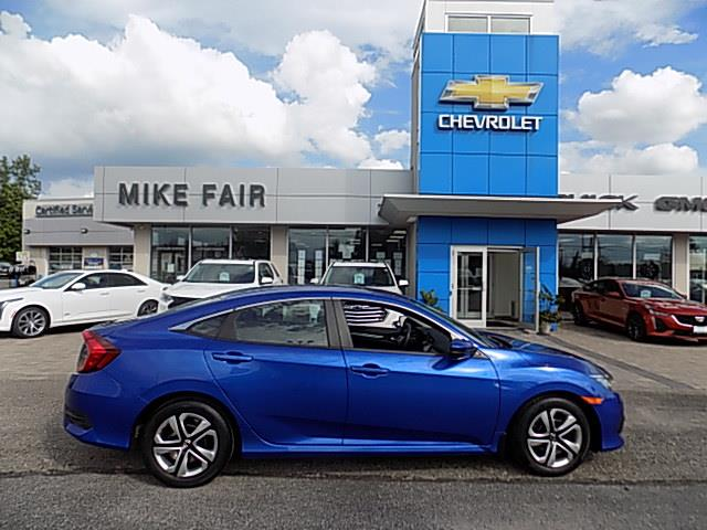 2017 Honda Civic LX (Stk: 20247A) in Smiths Falls - Image 1 of 18
