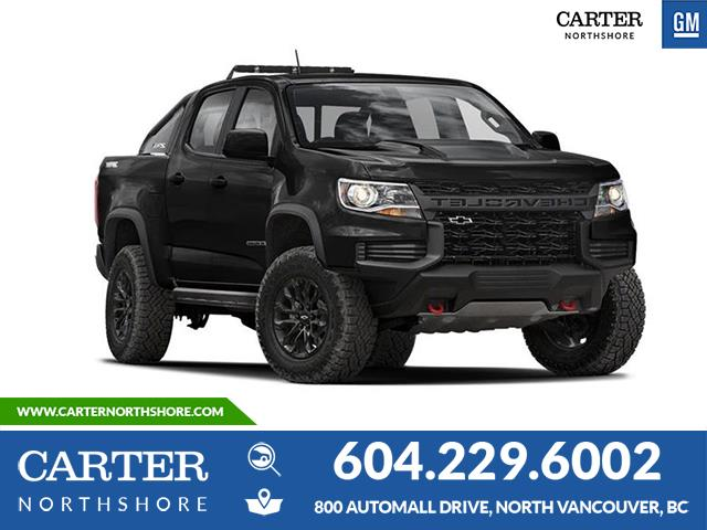 New 2021 Chevrolet Colorado ZR2 WIRELESS CHARGING - LEATHER - BEDLINER - TRAILERING PKG - North Vancouver - Carter GM North Shore