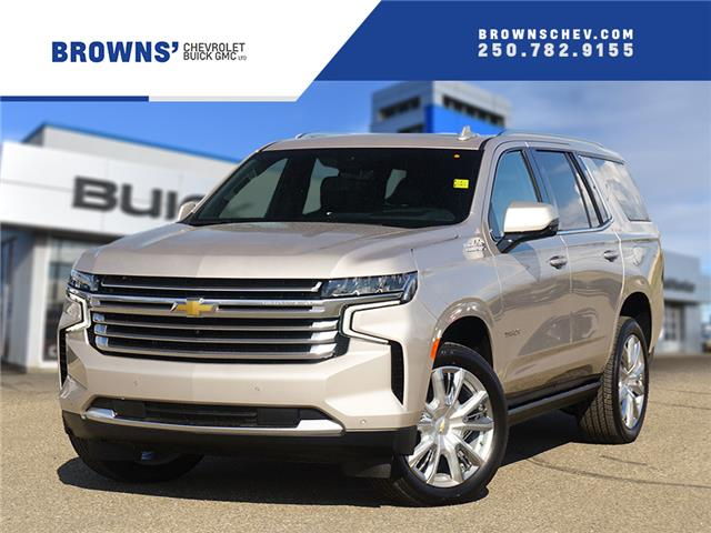 2021 Chevrolet Tahoe High Country (Stk: T21-1415) in Dawson Creek - Image 1 of 21