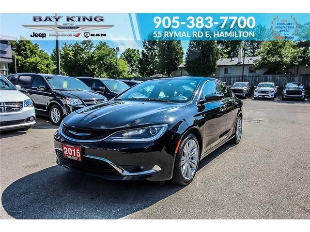 2015 Chrysler 200 Limited (Stk: 7089RA) in Hamilton - Image 1 of 25