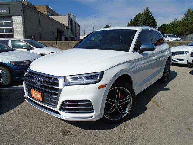 2018 Audi SQ5 3.0T Progressiv (Stk: P7511) in Toronto - Image 1 of 21