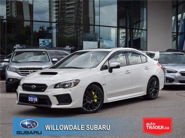 2018 Subaru WRX STI STI Sport-tech Manual w-Wing Spoiler >No accident< (Stk: P3274) in Toronto - Image 1 of 29