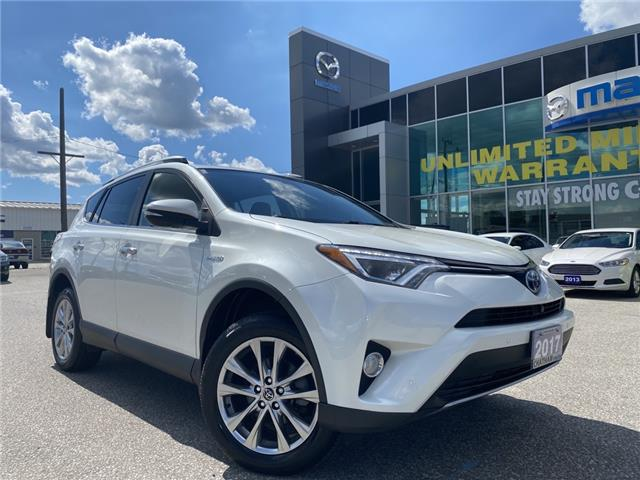 2017 Toyota RAV4 Hybrid Limited (Stk: UM2429) in Chatham - Image 1 of 25