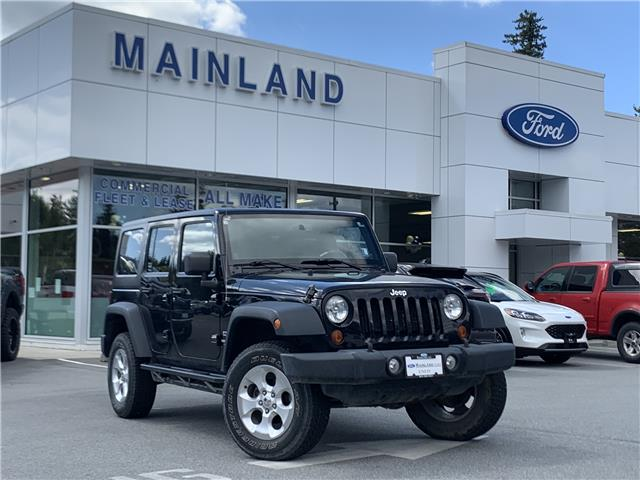 2013 Jeep Wrangler Unlimited Sport (Stk: 20F13308C) in Vancouver - Image 1 of 27