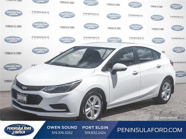 2018 Chevrolet Cruze LT Auto (Stk: 20RA19A) in Owen Sound - Image 1 of 25