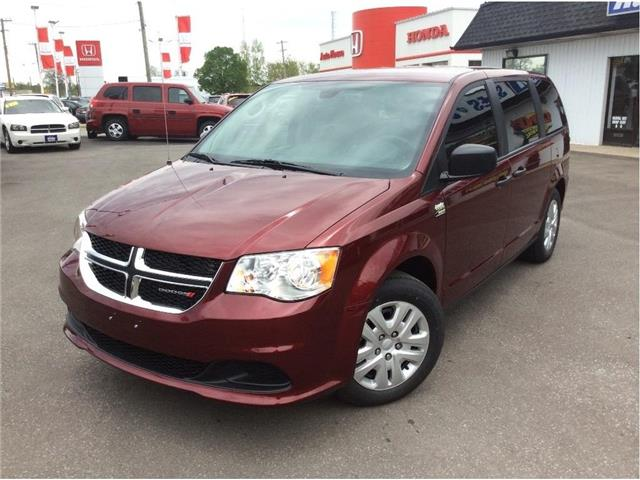 2019 Dodge Grand Caravan CVP/SXT (Stk: A8562) in Sarnia - Image 1 of 26