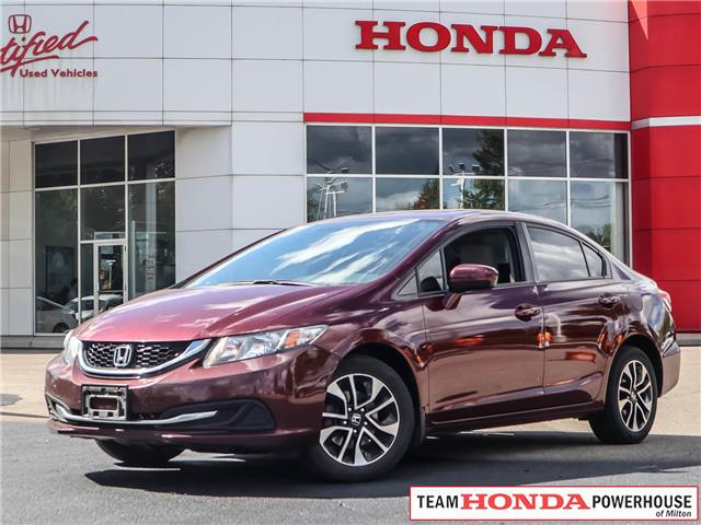 2015 Honda Civic EX (Stk: 20641A) in Milton - Image 1 of 6