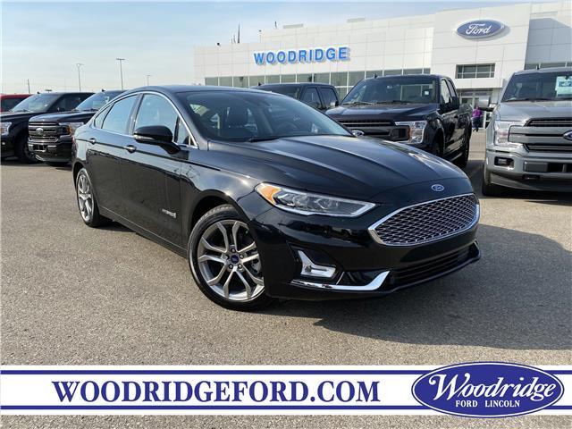 2019 Ford Fusion Hybrid Titanium (Stk: 17609) in Calgary - Image 1 of 24