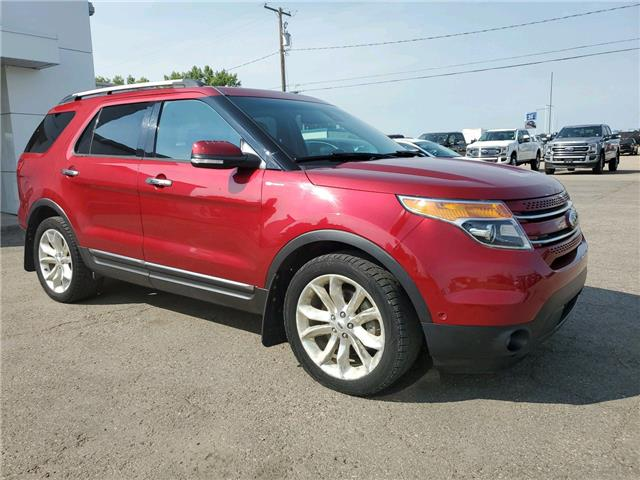 2014 Ford Explorer Limited (Stk: 20186A) in Wilkie - Image 1 of 21