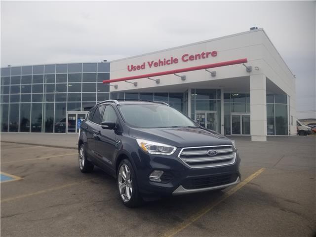 2019 Ford Escape Titanium (Stk: U204197) in Calgary - Image 1 of 28