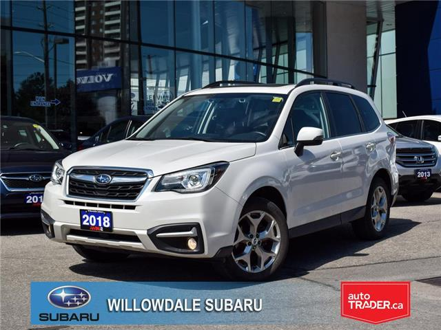 2018 Subaru Forester 2.5i Limited CVT w-EyeSight Pkg >>No accident<< (Stk: P3287) in Toronto - Image 1 of 28