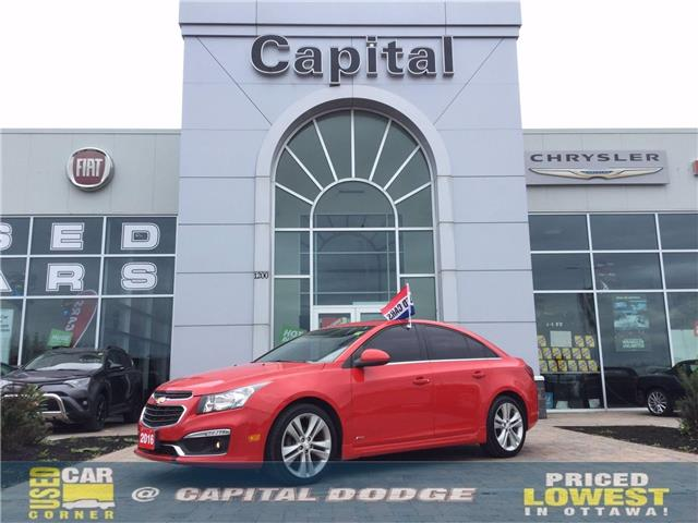 2016 Chevrolet Cruze Limited 2LT (Stk: L00325A) in Kanata - Image 1 of 23