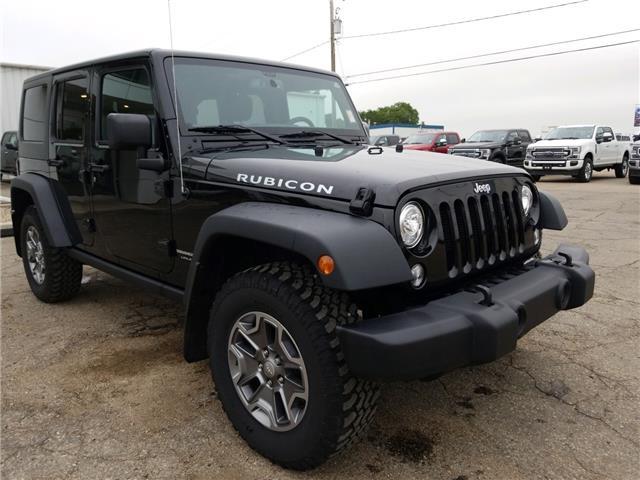2018 Jeep Wrangler JK Unlimited Rubicon (Stk: 20155A) in Wilkie - Image 1 of 23